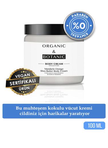 Organic ORGANIC BOTANIC VÜCUT KREMİ SHEA B.MAND.PORT.100ml Renksiz